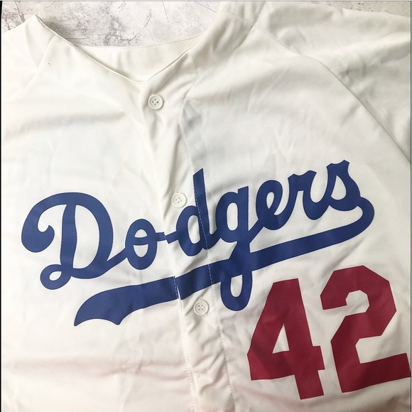 size 40 16029 d23df Jackie Robinson Dodgers Jersey